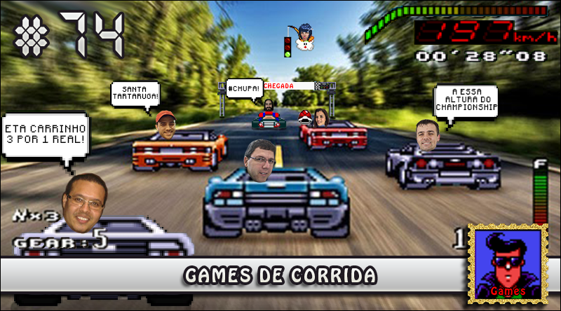MachineCast #74 – Games de Corrida