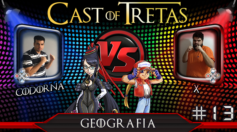 Cast of Tretas #13 – Codorna vs X