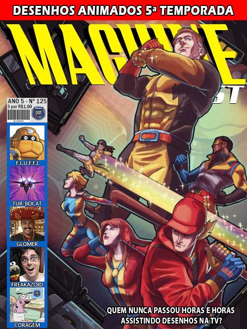 MachineCast #125 – Desenhos Animados 5ª Temporada