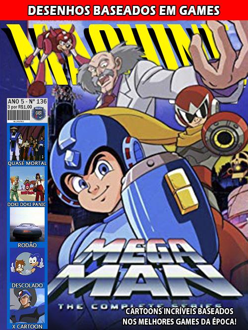 MachineCast #136 – Desenhos Baseados em Games